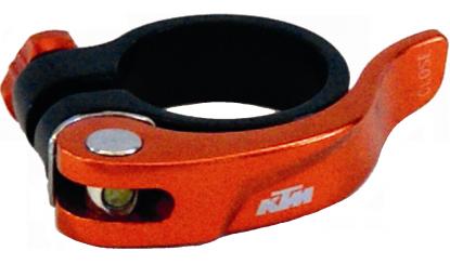 KTM sedlová objímka Line QR oranžová
